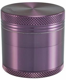 "1.5"" Sharpstone 4pc Solid Top Grinder - Purple"