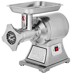 Happybuy 1 HP/750W Meat Grinder Stainless Steel 193/225 RPM