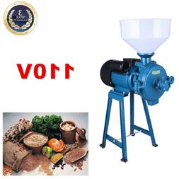 110V Electric Mill Grinder Machine For Corn Grain Rice Wheat