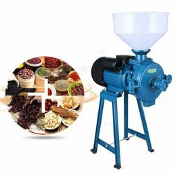110V Electric Mill Grinder Machine For Corn Grain Rice Dry W