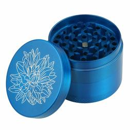 DCOU 2.2 In Aluminium Herb Grinder 4 Piece Metal Grinder Car