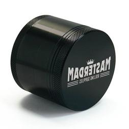 Masterdam Rolling Supplies 2.2-Inch Herb Grinder with Pollen