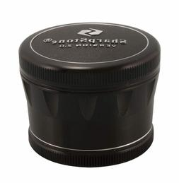 """2.5"""" Sharpstone® 2.0 4pc Solid Top Grinder - Black"""
