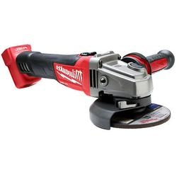 "Milwaukee 2781-20 M18 FUEL 18V 4-1/2""/5"" Slide Grinder w/ Fl"