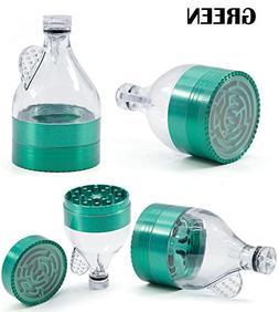 Bliss Brands 3 Layers Zinc Alloy Herb Grinder Funnel Shape w