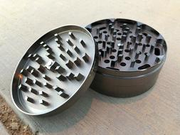 """4"""" Grinder 4 Piece Crusher Large Tobacco Spice Mill"""