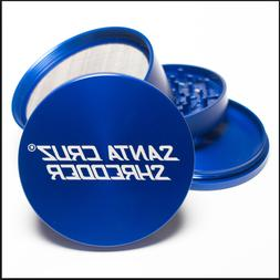 "Santa Cruz Shredder - 4 Piece Grinder - 2.2"" Medium - Blue -"