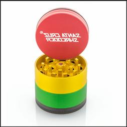 "Santa Cruz Shredder - 4 Piece Grinder - 2.2"" Medium - Rasta"