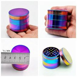4 Piece Herb Spice Alloy Smoke Crusher 40mm Tobacco Grinder