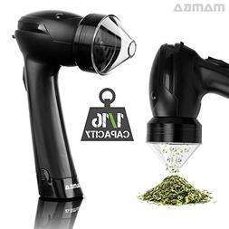 Mamba 420 Battery Aluminum Herb Grinder. Forward-Reverse Gri
