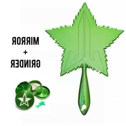 Jeffree Star Cosmetics 420 Green Weed Leaf Hand Chrome Makeu