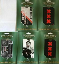 5 V Syndicate Grinder Cards Color Edition