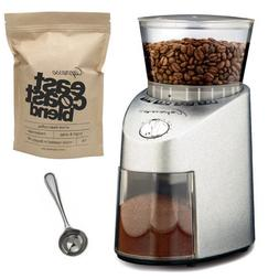 Capresso 565.05 Infinity Stainless Steel Conical Burr Grinde