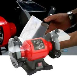 """6"""" Electric Bench Grinder Heavy Duty 110V Benchtop Table Pol"""