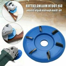 6 Teeth Milling Cutter Tea Tray Digging 16MM Angle Grinder W
