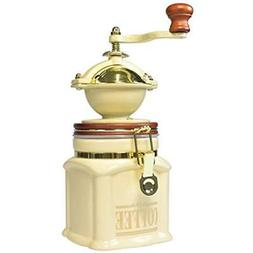 "Bisetti 61531 Vivalto Coffee Grinder, Cream Kitchen "" Dining"