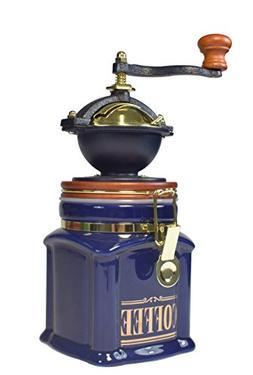 Bisetti 61932 Vivalto Coffee Grinder, Blue