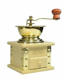 Bisetti 69041 Arpeggio Coffee Grinder, Cream