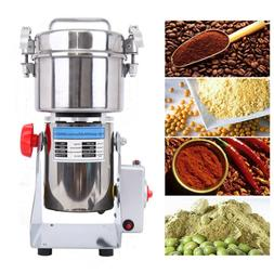 700g High Speed Electric Grain Grinder Cereal Mill Flour Pow