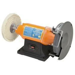 "8"" Bench Grinder & Buffer Polisher Heavy Duty 3/4 HP Motor L"