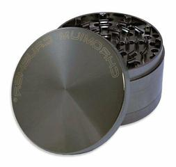 "Chromium Crusher 4.0"" Heavy Duty Durable Zinc Tobacco Spice"