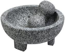 IMUSA USA MEXI-2013 Granite Molcajete Spice Grinder 6-Inch,