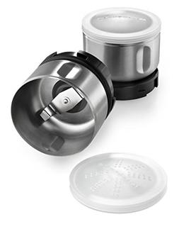 KitchenAid Bcgsga Spice Grinder Accessory Kit, Stainless Ste