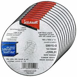 Makita® 10 Pack - 4 Inch Cutting Wheels For Grinders - Aggr