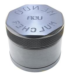 Mendo Mulcher Billet Aluminum 4 Piece Grinder with Screen ,