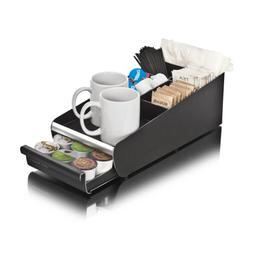Mind Reader Coffee Condiment Storage Organizer with K-Cup Si