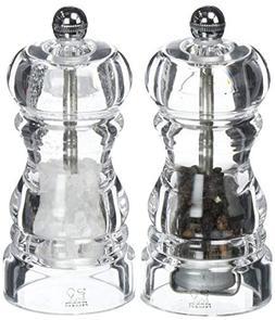 Peugeot Nancy Acrylic Salt and Pepper Mill Set, 12cm/4 3/4-I