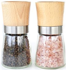 Willow & Everett Salt and Pepper Shakers - Wood Salt and Pep