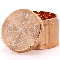 DCOU New Design Premium Aluminium Herb Grinder 2.2 Inches 4