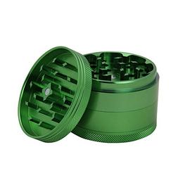 DCOU New Design Premium Aluminium Herb Grinder - Metal Tobac