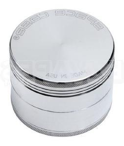 Space Case 4 Piece Aluminum Herb Grinder Large 90mm
