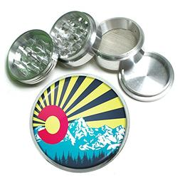 """Perfection In Style 63mm 2.5"""" 4 Pc Aluminum Sifter Magnetic"""