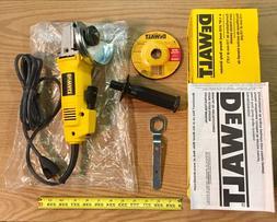 "DeWALT Angle Grinder 4-1/2"" Heavy Duty 120V 7.5 Amp Corded a"