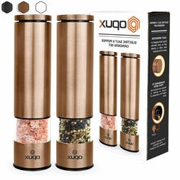 Battery Operated Salt and Pepper Grinder Set   Electric Pepp