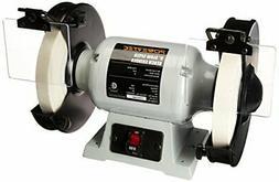 POWERTEC BGSS801 Slow Speed Bench Grinder, 8