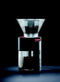 Bodum BISTRO Electric Burr Coffee Grinder Plastic Black