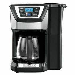 Black & Decker CM5000B 12-Cup Mill and Brew Coffeemaker, Bla