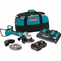 "Makita Brushless Cordless 7""Paddle Switch Cut-Off/Angle Grin"