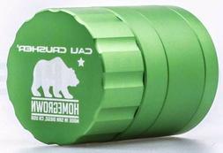 Cali Crusher - Homegrown 4 Piece Herb Grinder - 1.85'' Pocke