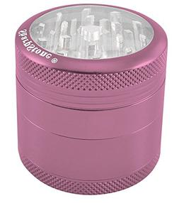 "2.2"" Sharpstone® 4pc Clear Top Grinder - Pink"