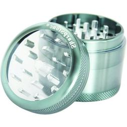 """SHARPSTONE CLEAR TOP GRINDER 4 PIECE 2.2"""" GREY PACK OF 1"""
