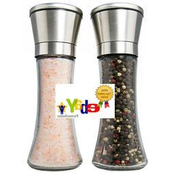 Best Deluxe Salt and Pepper Grinder Set of 2 - Professional