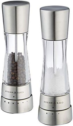 Cole & Mason Derwent Salt & Pepper Mill Giftset, Stainless S