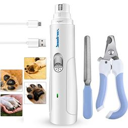 Dog Nail Clipper Grinder Trimmer File Pet Grooming Tools for