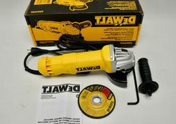 "Dewalt DWE402W 4-1/2"" Corded Small Angle Grinder with Wheel"