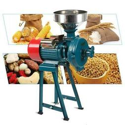 Electric Grain Mill Grinder Machine Dry Herb Wheat Feed Corn